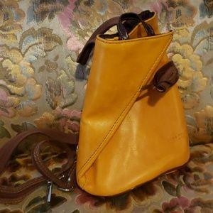 Vera Pelle Italian Leather Mini Backpack